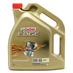 Castrol Edge Titanium FST 0W-40 A3/B4  Motoröl 5l Kanne