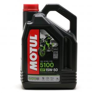 Motul 5100 ester 15W-50  4T Motorrad Motoröl 4l