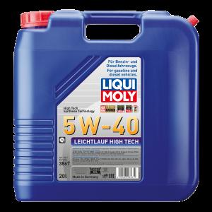 Liqui Moly Leichtlauf High Tech 5W-40 Motoröl 20l Kanister