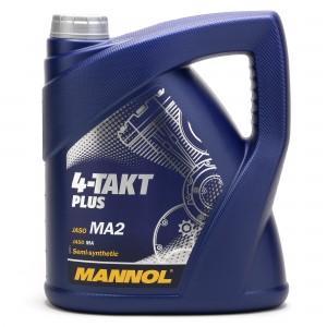MANNOL 4-Takt Plus 10W-40 Motorrad Motoröl 4l